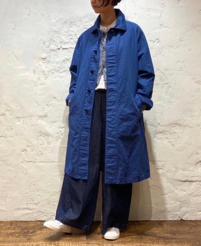 HTS ~COTTON LINEN BALMACAAN COAT~