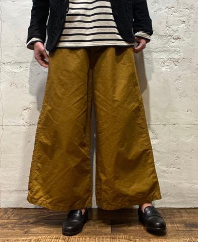 HTS  ~CCOTTON LINEN EASY PANTS ~