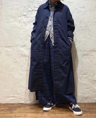 HTS 〜COTTON TWILL BALMACAAN COAT WITH BELT〜