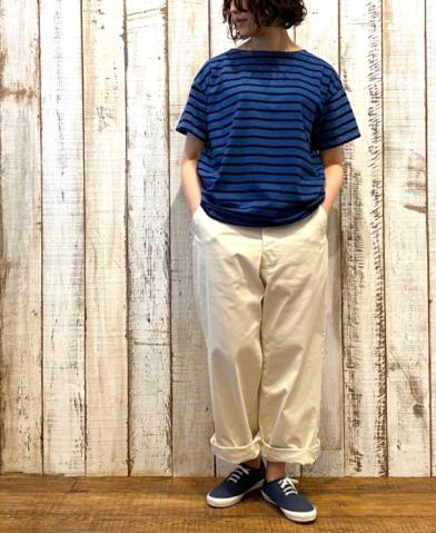ARMEN BASQUE SHIRT & maison de soil TUCK-PANTS