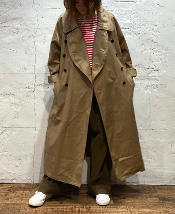 HTS 〜 COTTON DOUBLE OVER COAT〜