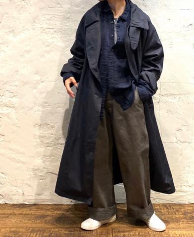HTS〜COTTON DOUBLE OVER COAT〜