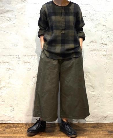 HTS〜COTTON EASY PANTS〜