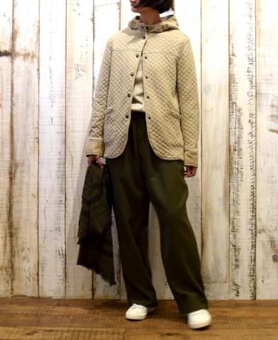 ARMEN 〜 COTTON QUILT HOODED JACKET〜