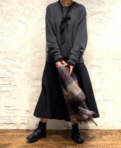 HTS 〜SWEAT SHIRT 〜 & SOIL ~FRENCH RAYON DRESS~