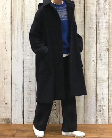 maison de soil 〜WOOL DETACHABLE HOODED COAT〜