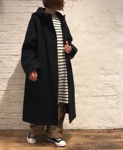 HTS 〜WOOL BALMACAAN COAT LENGTH 110cm〜