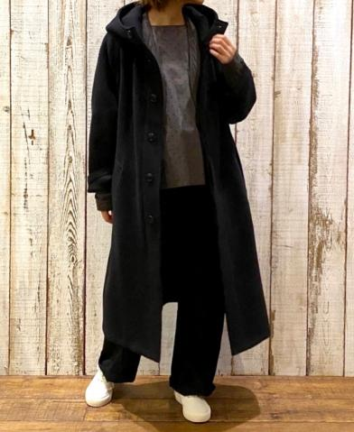 "HTS ""WOOL HOODED COAT"" & ARMEN ""COTTON QUILT JKT"""