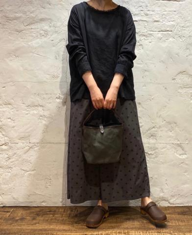 SOIL 〜COTTON VOILE LACE LACE PULLOVER & DOT EASY P…
