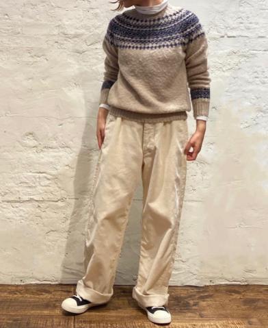 ARMEN 〜ONE-TUCK PANTS〜