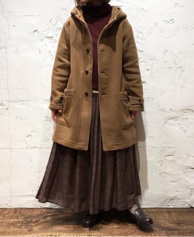 ARMEN 〜DOUBLE FACE HOODED COAT〜