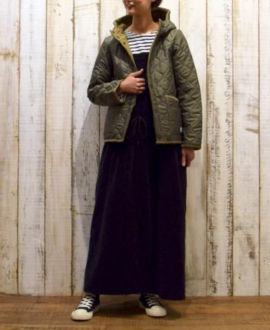 ARMEN 〜PLAIN HEAT QUILT REVERSIBLE HOODED JKT〜