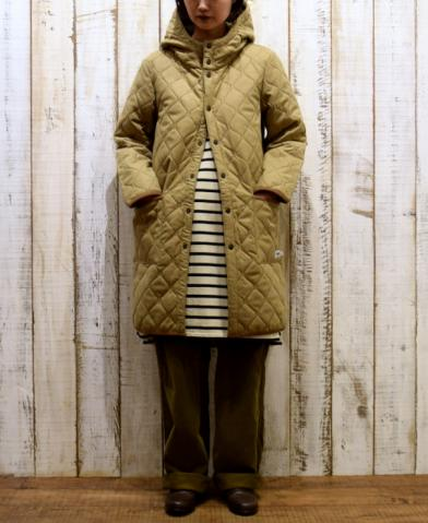 ARMEN 〜 WOOL HEAT QUILT REVERSIBLE HOODED COAT〜