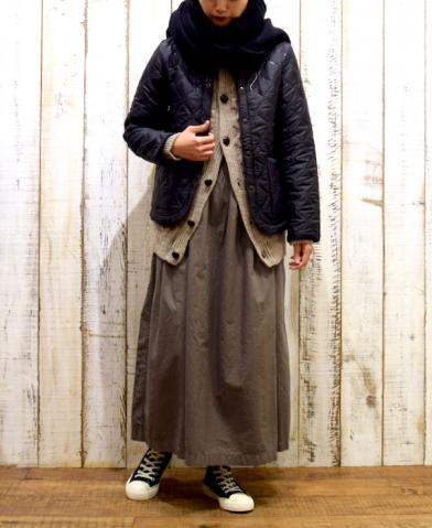 ARMEN 〜PLAIN HEAT QUILT NO COLLAR JKT〜