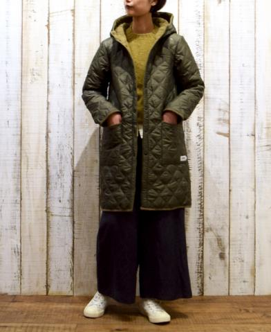 ARMEN 〜PLAIN HEAT QUILT REVERSIBLE HOODED COAT〜