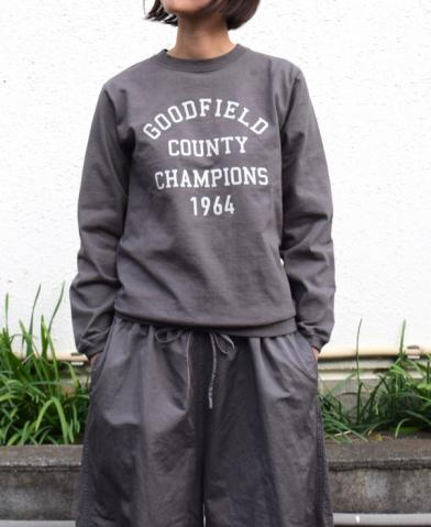 "Goodwear 〜NGW9951 2474 ""COUNTY 20"" CREW NECK L/SL …"