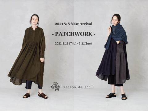 - PATCHWORK - collectionのお知らせ