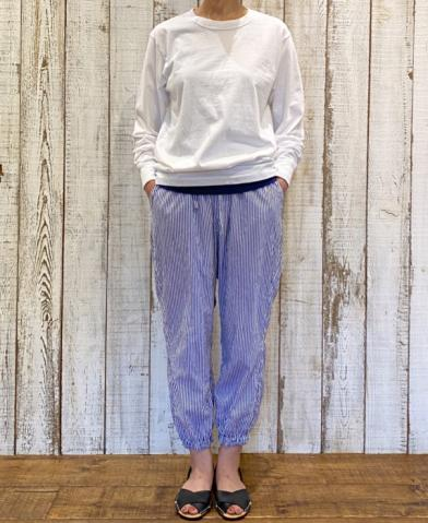 "Vas-y Lentement ""PRINTED CAMBRIC EASY PANTS"""