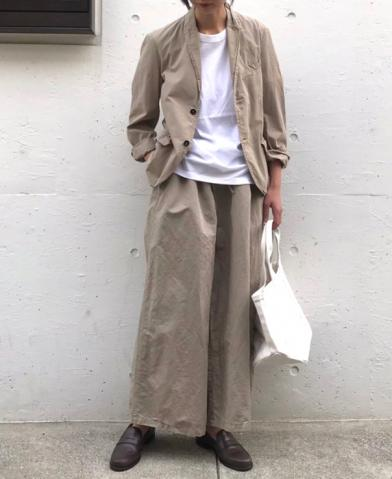 HTS 〜COTTON×LINEN EASY PANTS〜