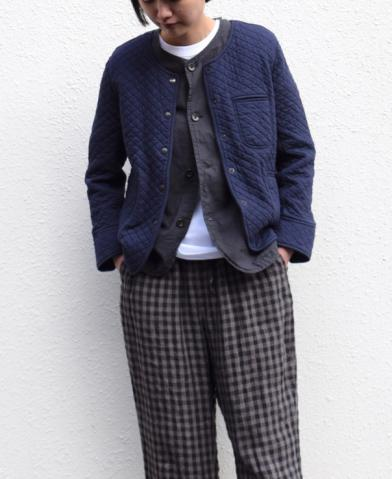 "ARMEN ""COTTON QUILT JACKET"" × Vas-y Lentement  ""JA…"