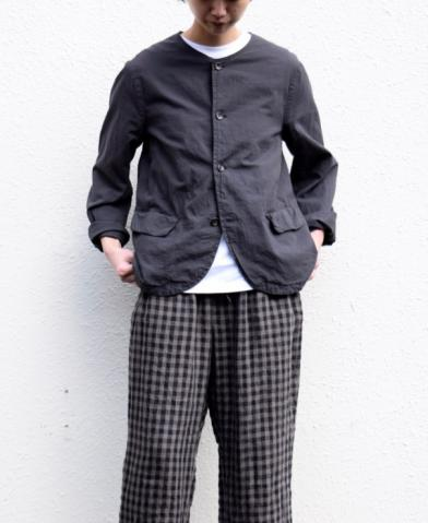 Vas-y Lentement 〜 60'S ORGANIC CAMBRIC NO COLLAR J…