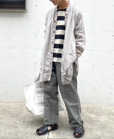 ARMEN 〜 LIGHT HERRINGBONE CARPENTER PANTS〜