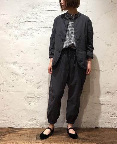 Vas-y Lentement 〜 NO COLLAR JACKET&EASY PANTS 〜