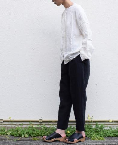maison de soil ~ LINEN EASY TAPERED PANTS style2 ~