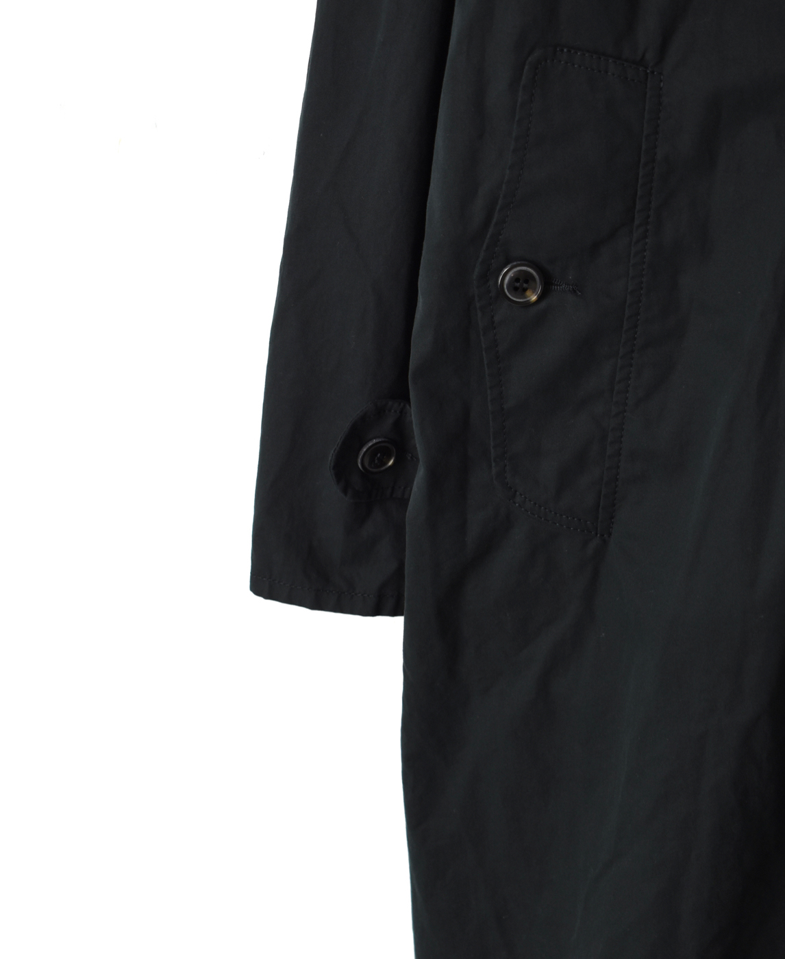 NMPA2011B SINGLE BREASTED TRENCH COAT WITH BELT