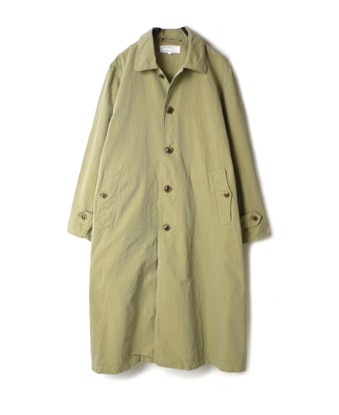 NMPA2011 SINGLE BREASTED TRENCH COAT WITH BELT