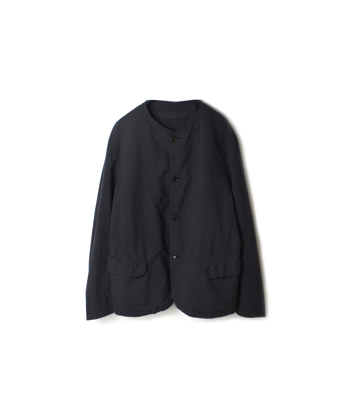 NVL1751CD 60'S ORGANIC CAMBRIC NO COLLAR JACKET