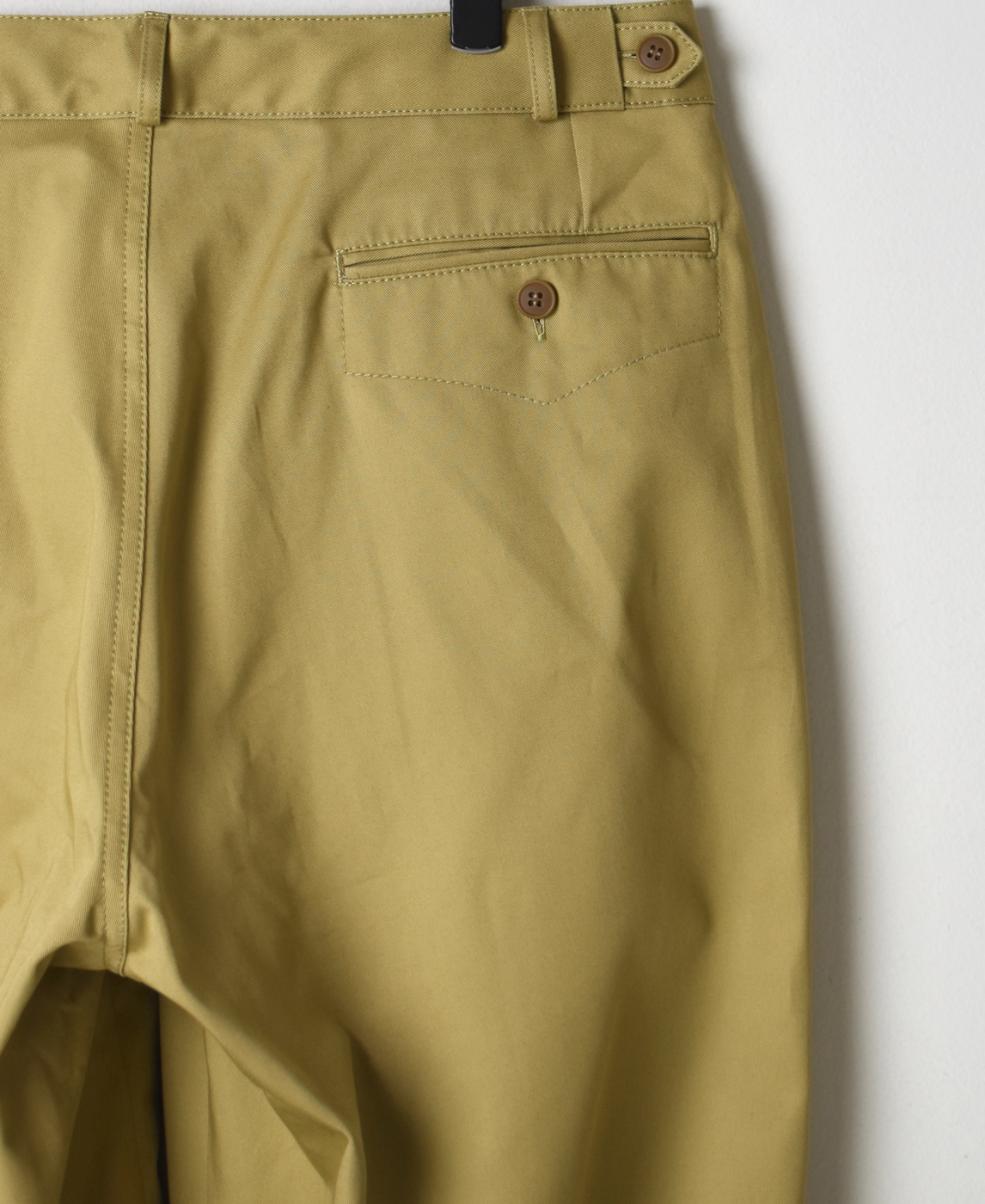 GNMDS1501 COTTON CHINO COMFORTABLE CROPPED PANTS