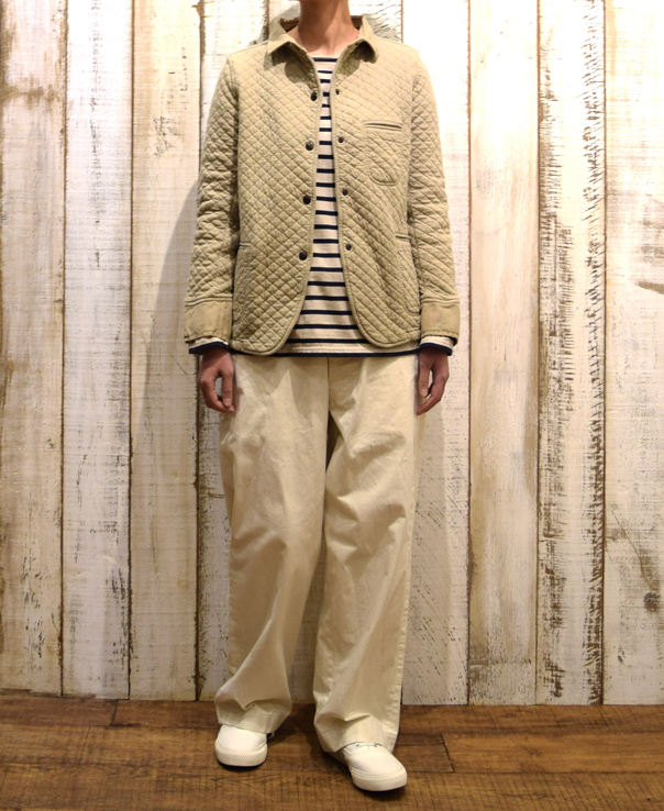NAM0202B COTTON QUILT SHIRTS COLLAR JACKET