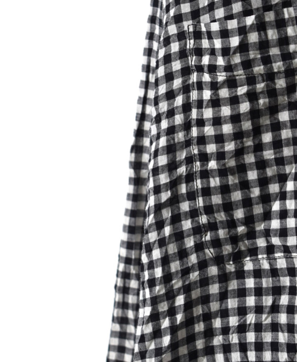 NVL1861HW HAND WOVEN COTTON REGULAR COLLAR L/SL OVERSIZED SHIRT