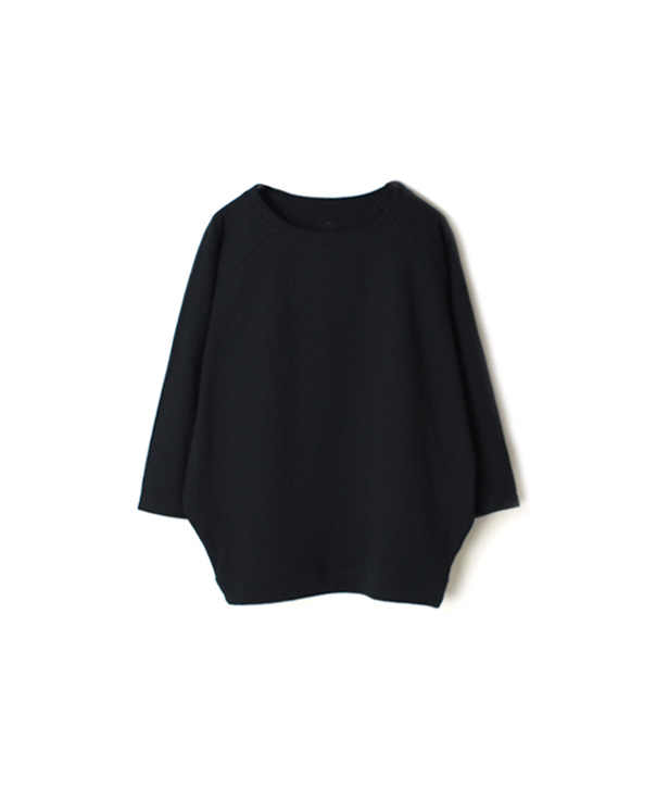 GNSL20021 COTTON DOLMAN SLEEVE CREW-NECK PULLOVER