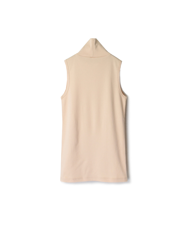 NMF2001 PLAIN TURTLE-NECK SLEEVELESS