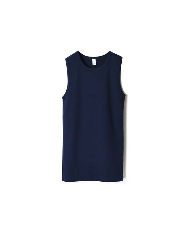 NMF1801 PLAIN CREW-NECK SLEEVELESS