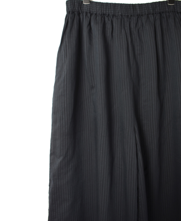 INMDS20135 HAND WOVEN COTTON SILK STRIPE EASY PANTS