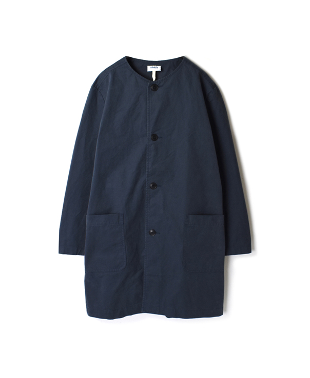 NAM1901CP COTTON AUTHENIC NO COLLAR WORK COAT