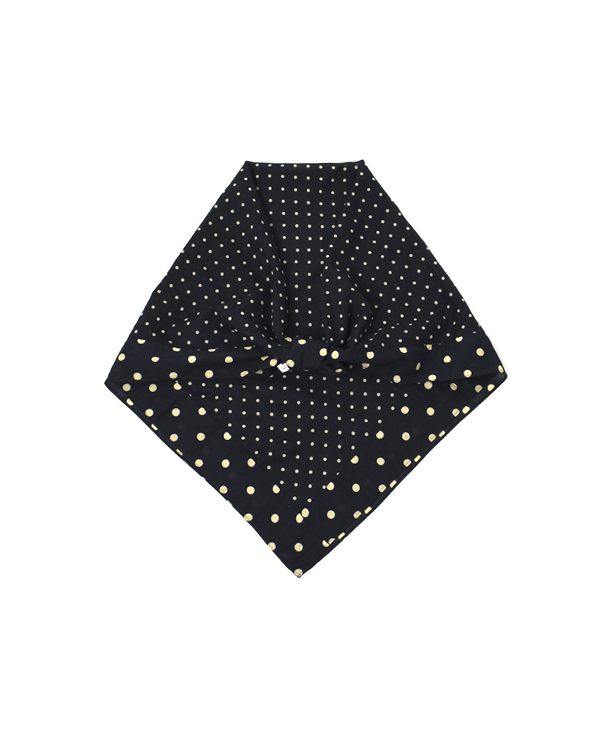 NSL20027 VOILE DOT SQUARE STOLE