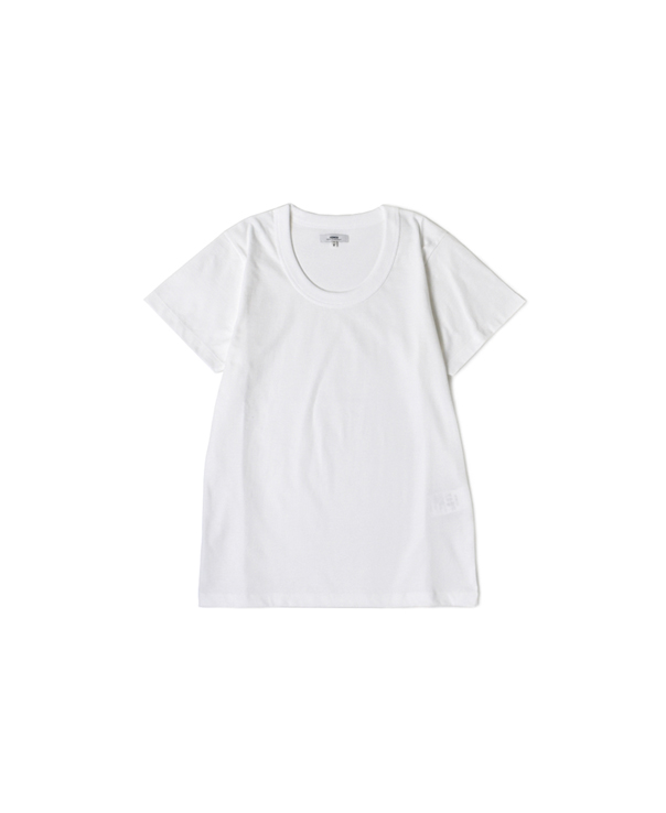 NFA1501 COTTON JERSEY U-NECK S/SL T-SHIRT