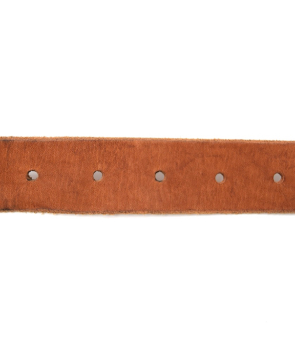 NBC1301NS 30mm OLD ENGLISH BRASS BUCKLE BELT (STONE WASH)