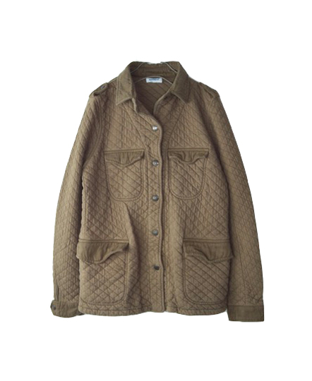 NAM0650 COTTON QUILT MILITARY JACKET