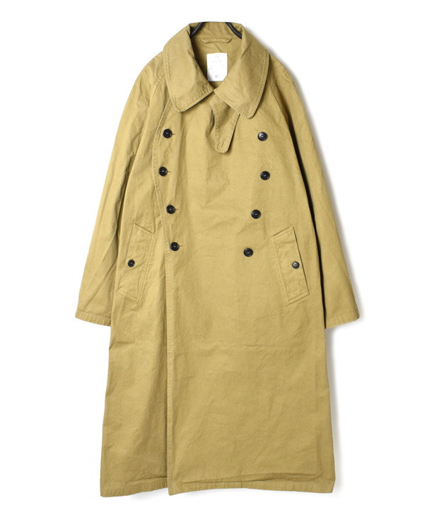 NHT2052DT COTTON DOUBLE OVER COAT