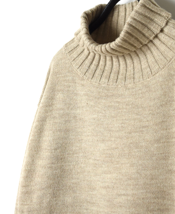 GNSL20501 POLO NECK PULLOVER