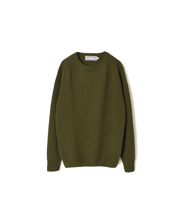 JNAMP1451 CREW NECK SADDLE SHOULDER P/O