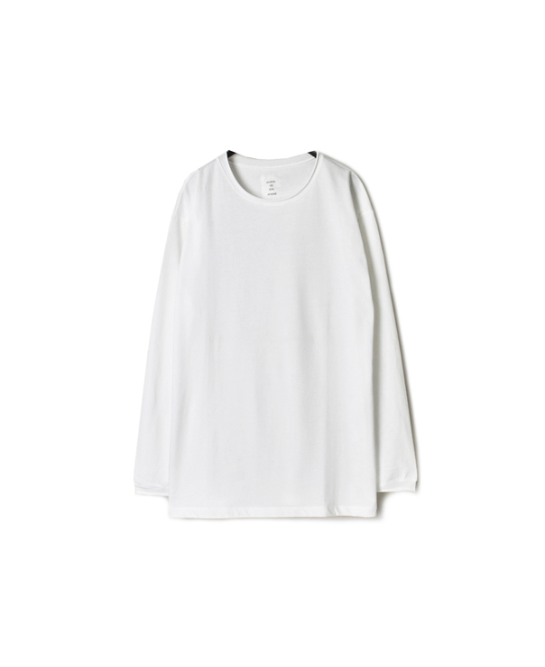 FMDSH1851 CUTOFF CREW NECK /SL T-SHIRT