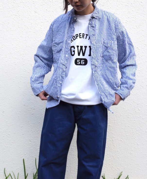 "NGW9951 2484 ""GWD 20"" CREW NECK L/SL WITH CUFF & HEM RIB"