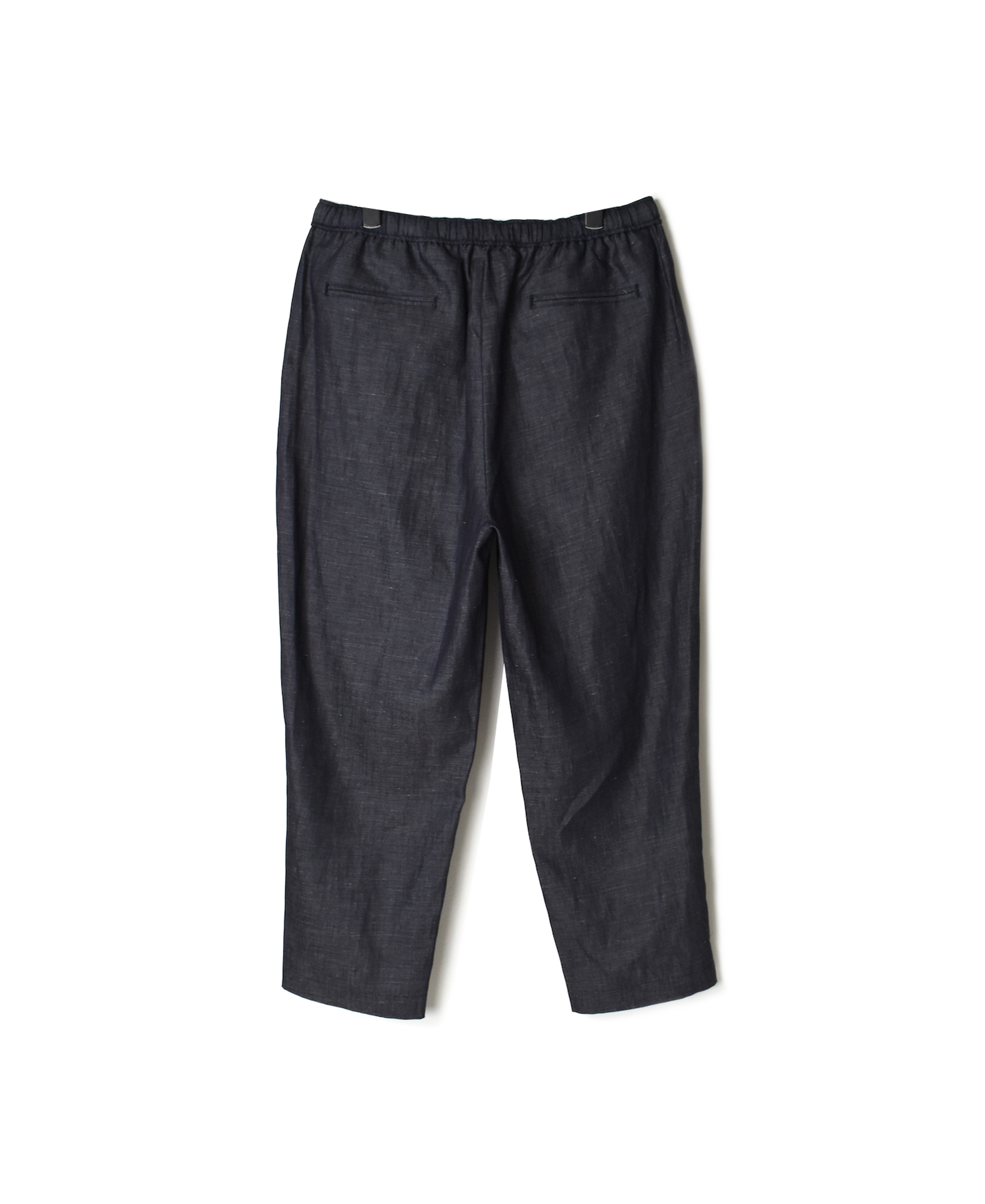 GNMDS2101CLP COTTON LINEN EASY TAPERED PANTS