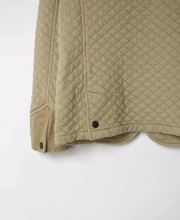 NAM2101 COTTON QUILT STAND COLLAR JACKET